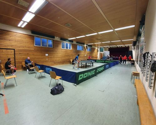 Tischtennis-Punktspiele unter Corona-Hygienebedingungen gestartet