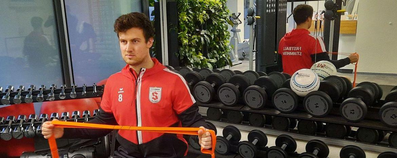 Spitzensportler dürfen trainieren