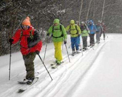 Abteilung Outdoorsport: Termine im Schnee...