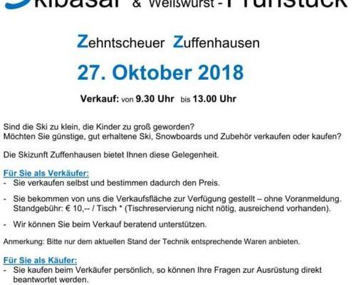Skibasar in Zuffenhausen am 27.10.