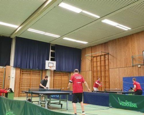 Dreierspieltag der Tischtennisabteilung