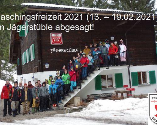 Faschingsfreizeit 2021 in Gargellen abgesagt!