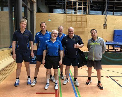 Tischtennisabteilung im aktiven Spielbetrieb