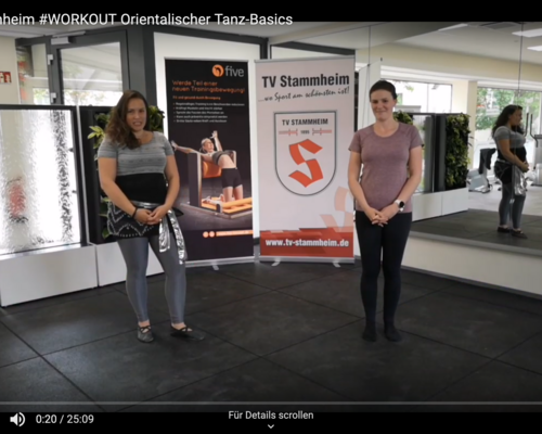 #WORKOUT 08.05. - Orientalischer Tanz-Basics