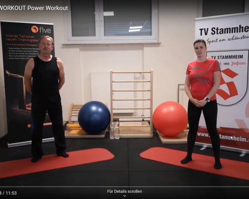 #WORKOUT 04.05. - Power-Workout