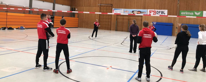 Faustball-Trainerfortbildung