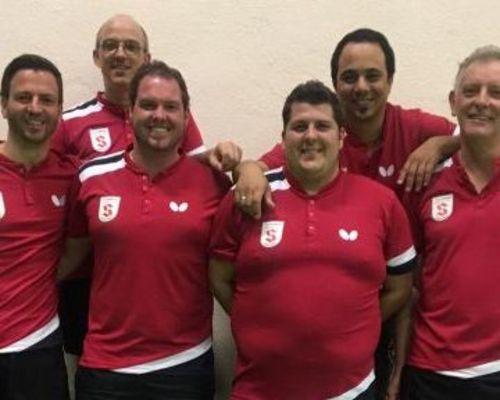 Tischtennis-Herren I erfolgreich beim TTC Stuttgart