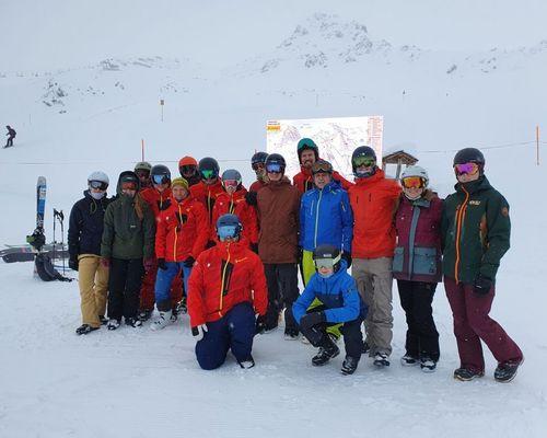Schneesportschule: Einweisung und Sichtung