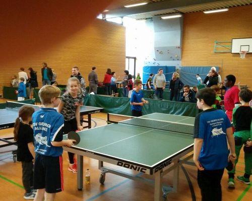 Tischtennis Bezirksentscheid Minimeisterschaften
