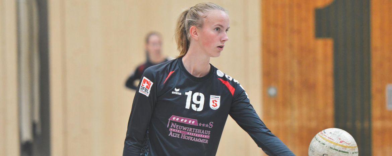 Larissa Keser im Nationaldress