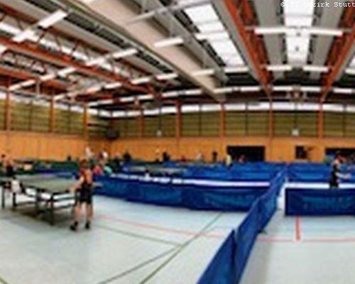 Tischtennis-Jugend bei Qualifikation zur Bezirksrangliste